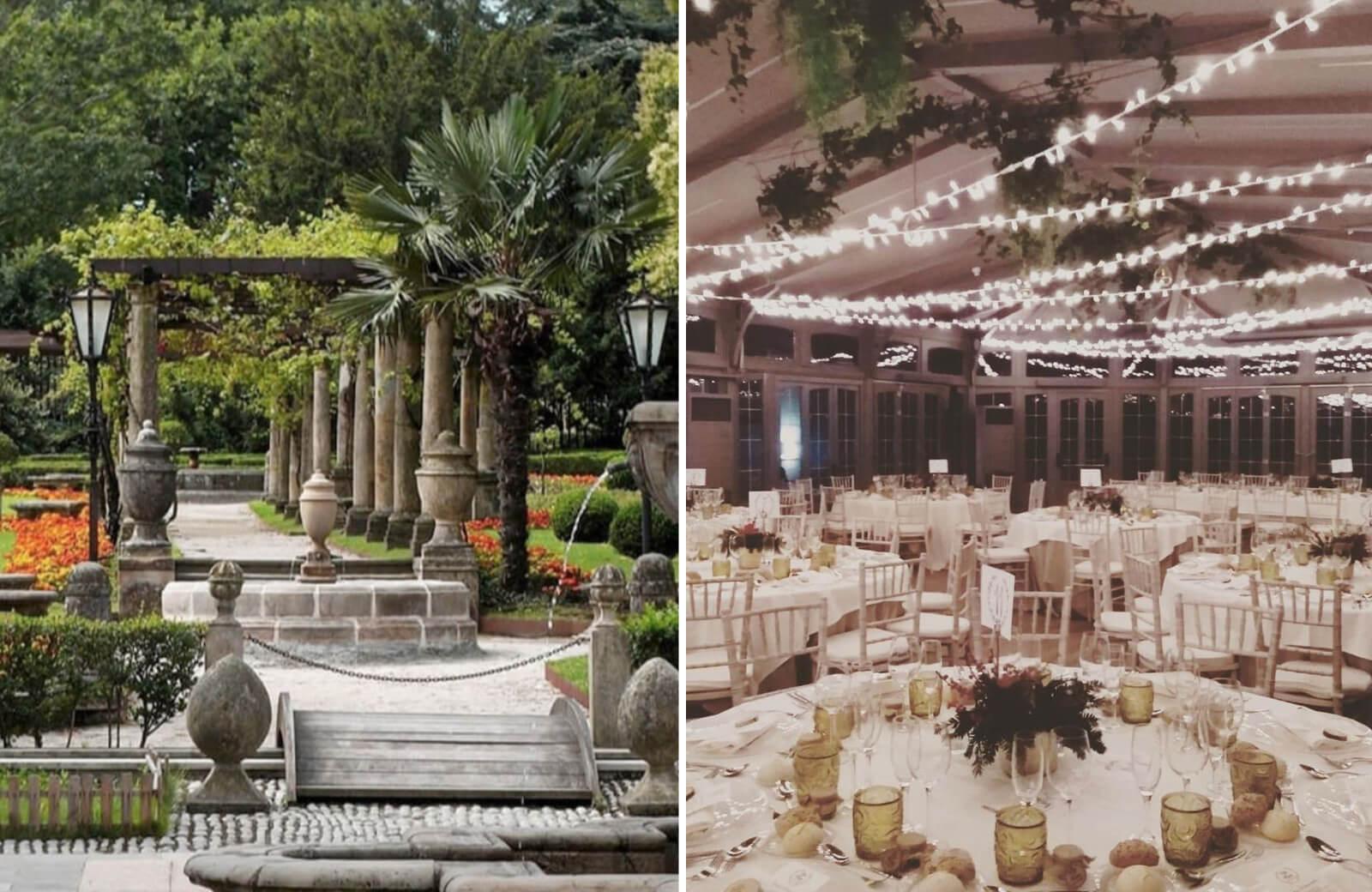 Jardín para bodas y salones Palacio de Avilés