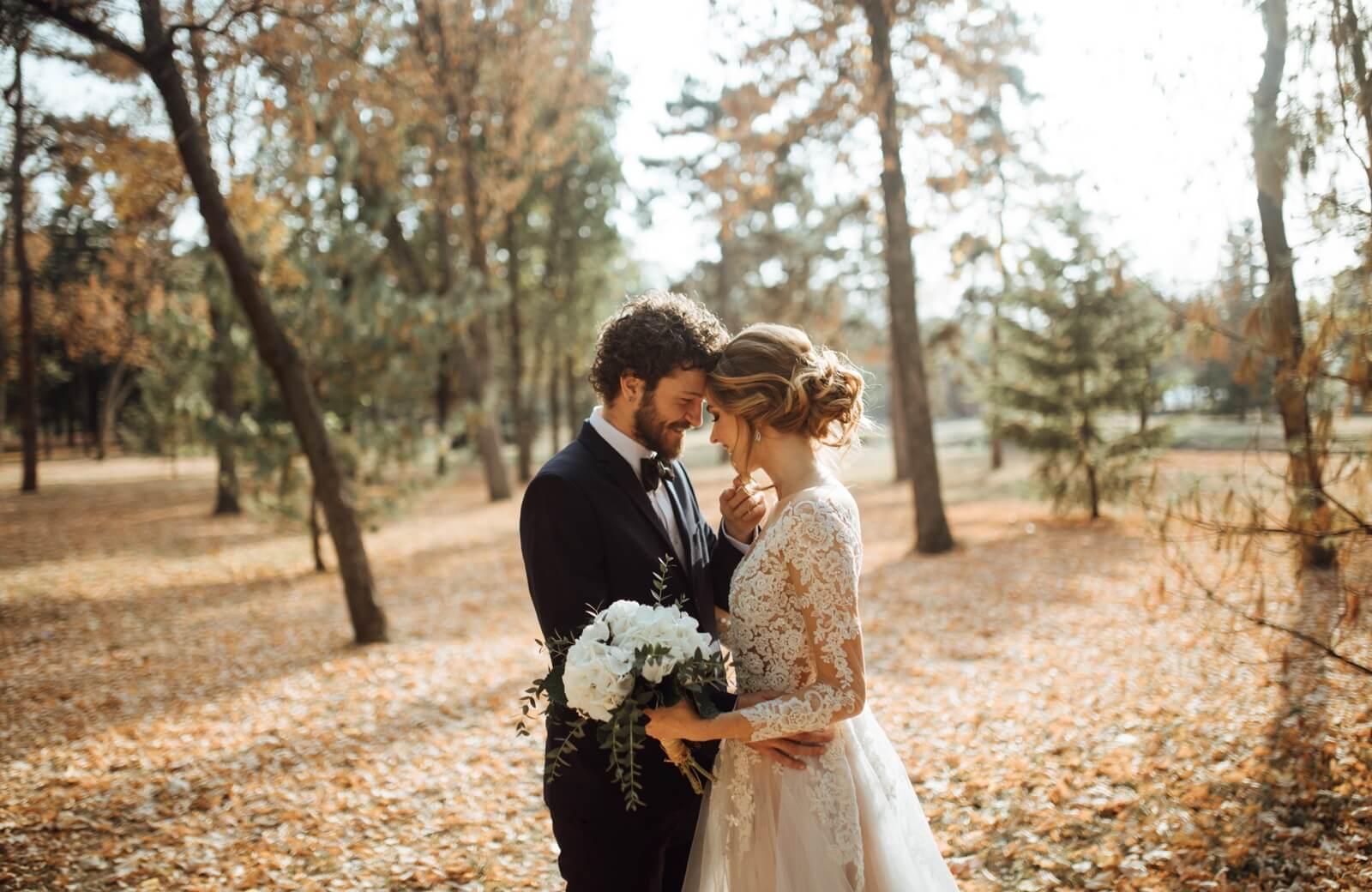 Tendencias nupciales para bodas en otoño