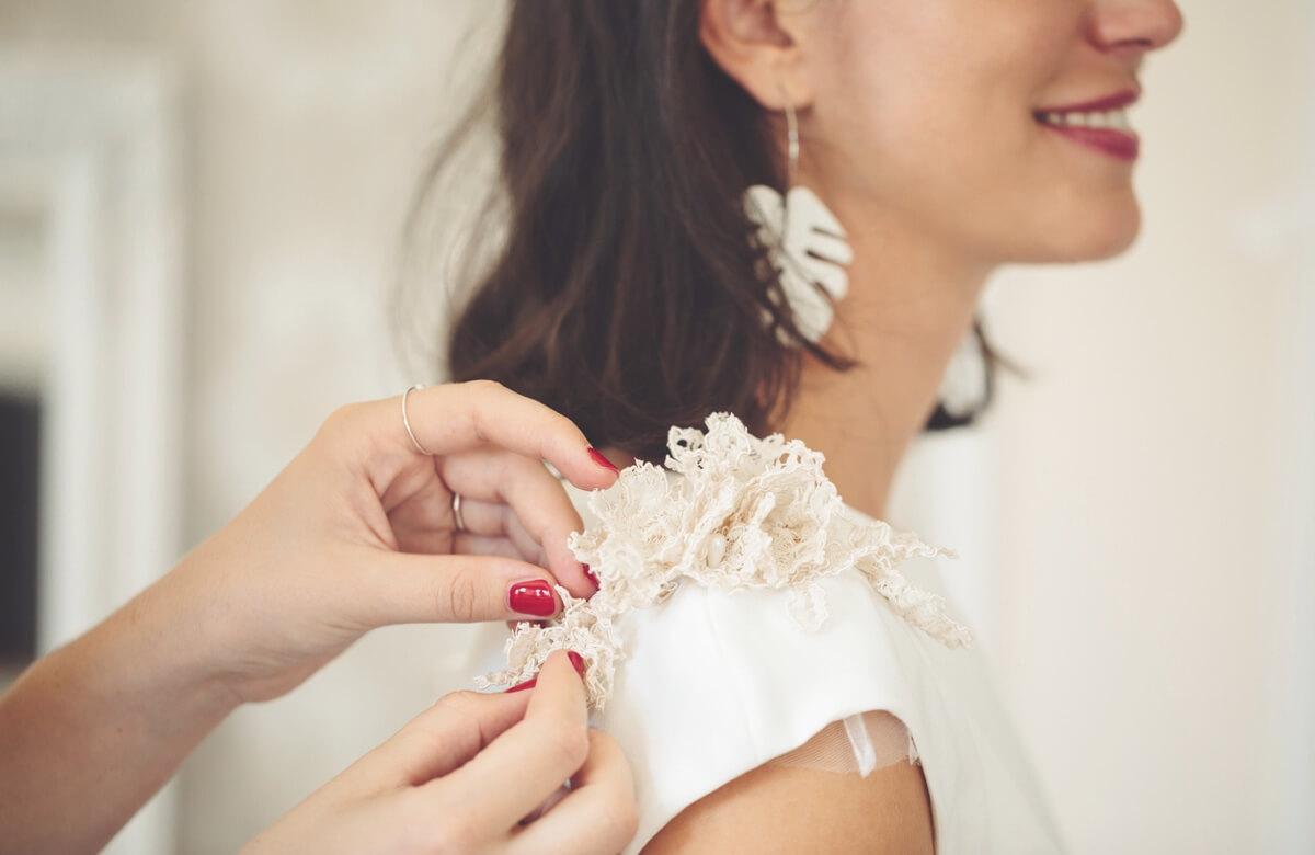 Ultimar detalles vestido de novia