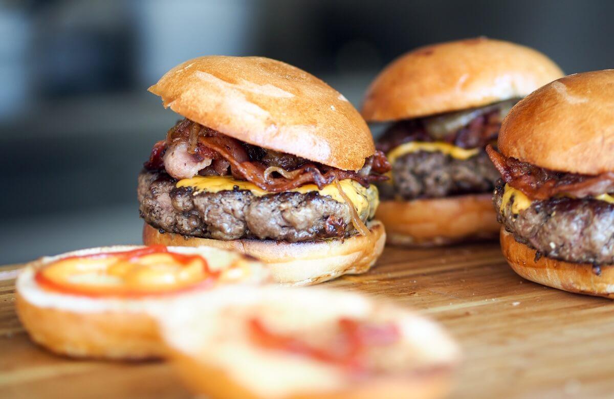 Mini Burgers: menú infantil Primera Comunión