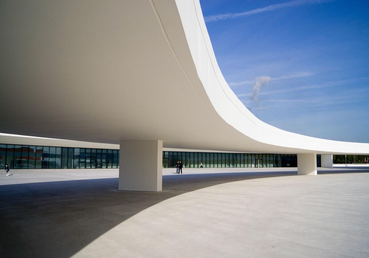 Exteriores Centro Cultural Niemeyer