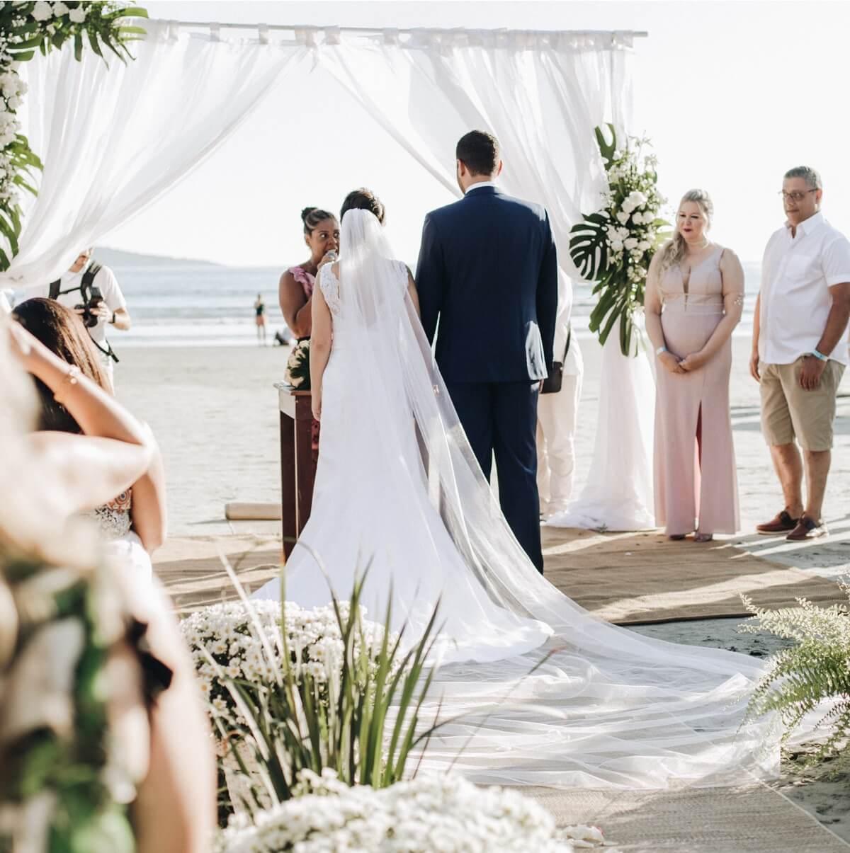 Decoración de una boda en la playa