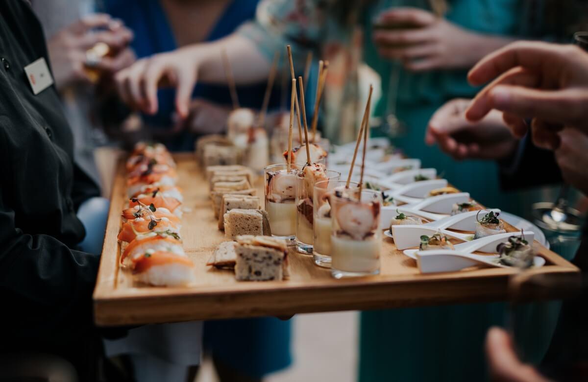 Bodas en octubre: el banquete
