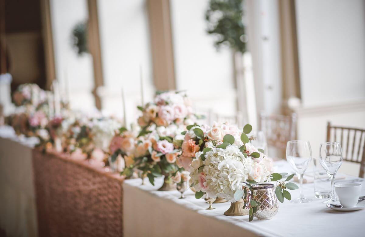 Decorar mesas imperiales para bodas