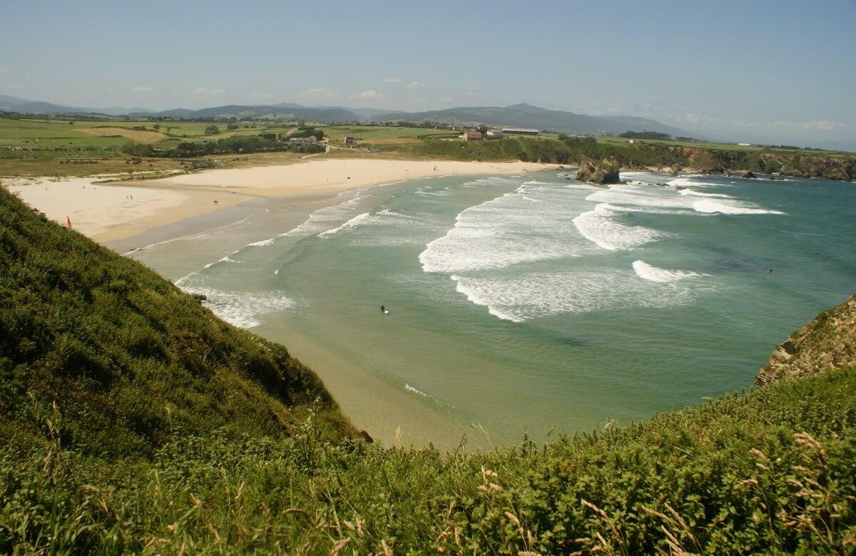 Playa de Peñarronda Asturias