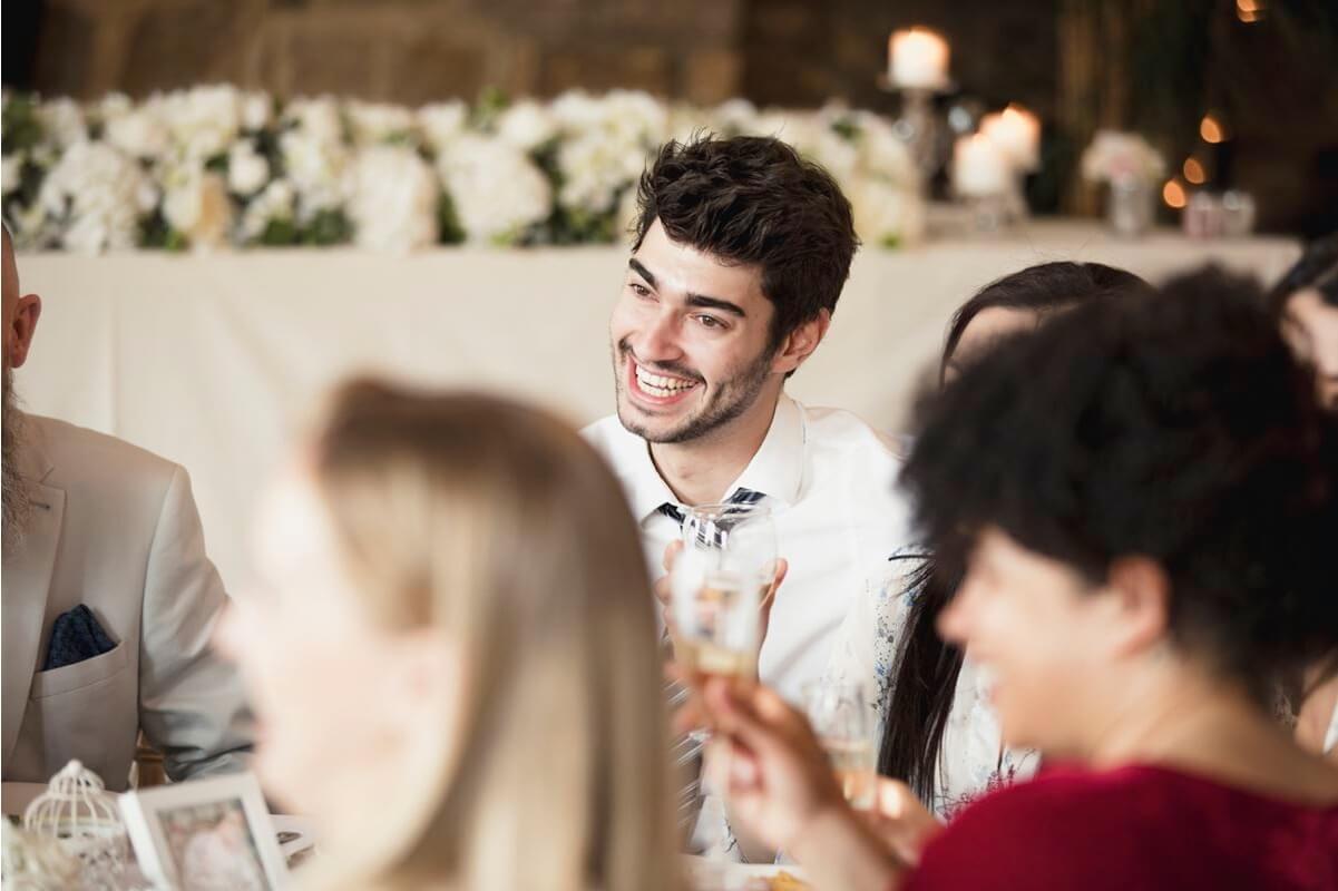 El convite en una boda durante el covid-19