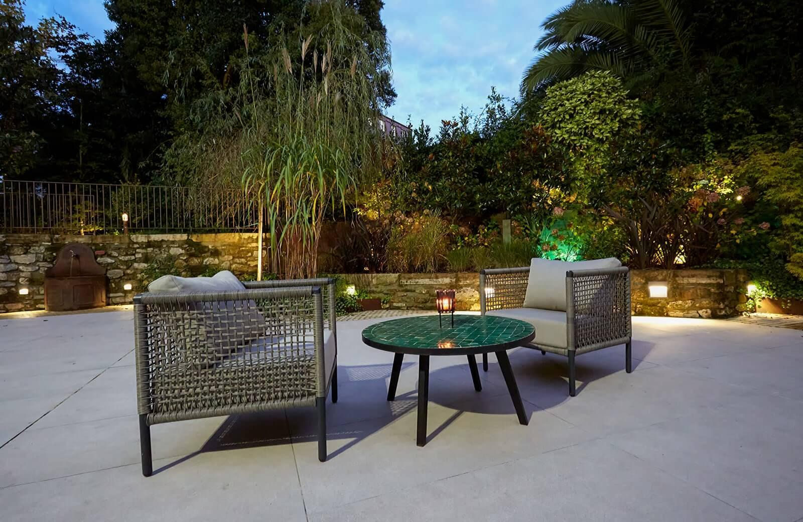 terraza al aire libre en avilés