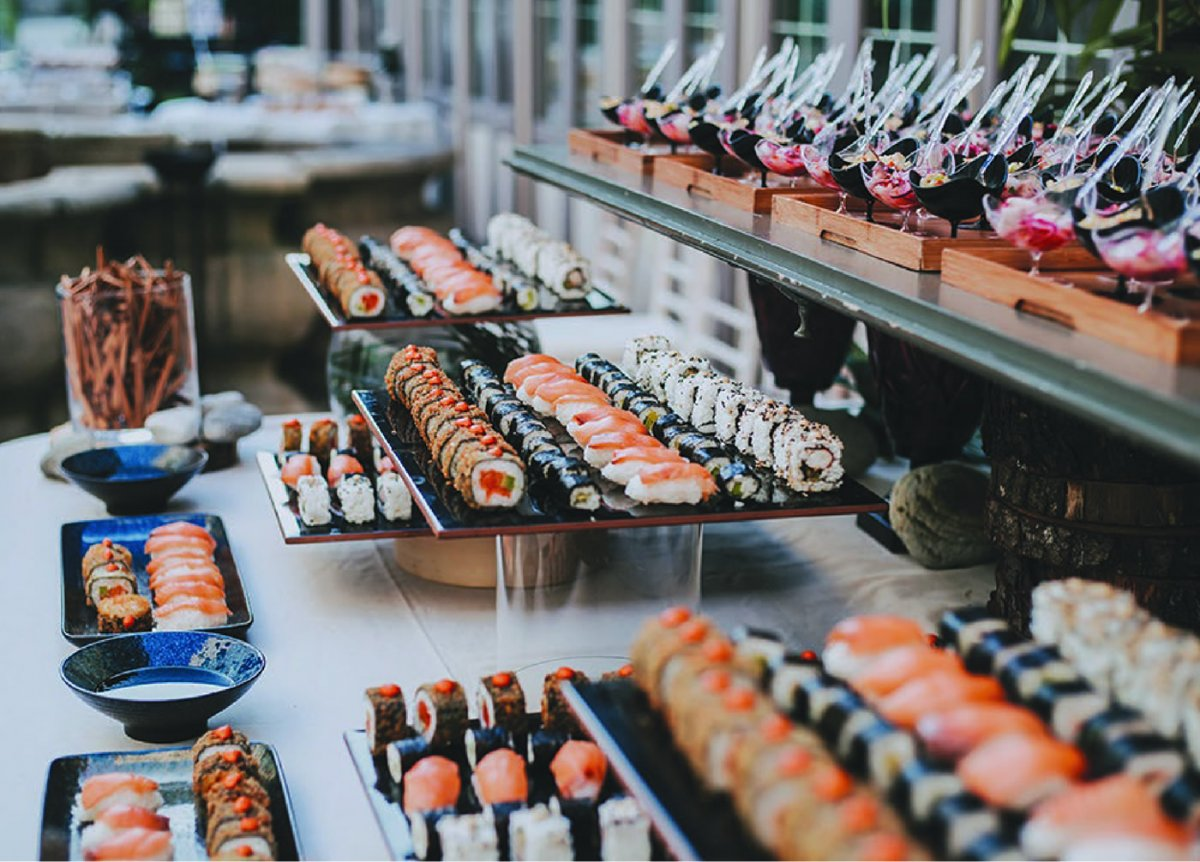Catering oriental