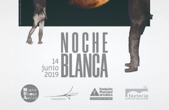 La Noche Blanca se celebra 14 de Junio en Avilés