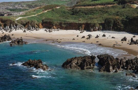 Los Arenales de Llanes, unas de las mejores playas para ir en Septiembre