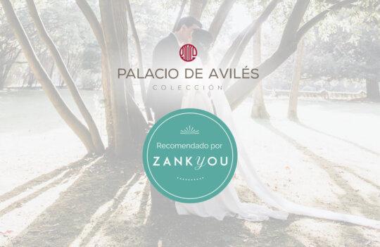 Zankyou otorga el sello de calidad a Palacio de Avilés