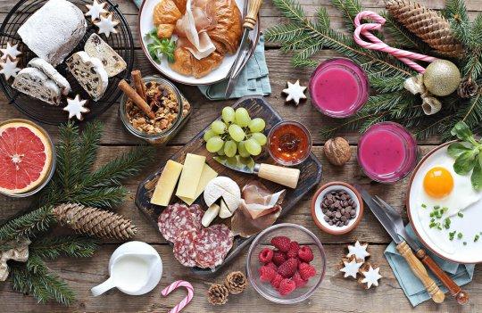 Lo que no puede faltar en un brunch en Navidad