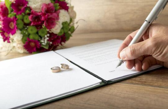 Qué documentos son necesarios para una boda civil en Avilés