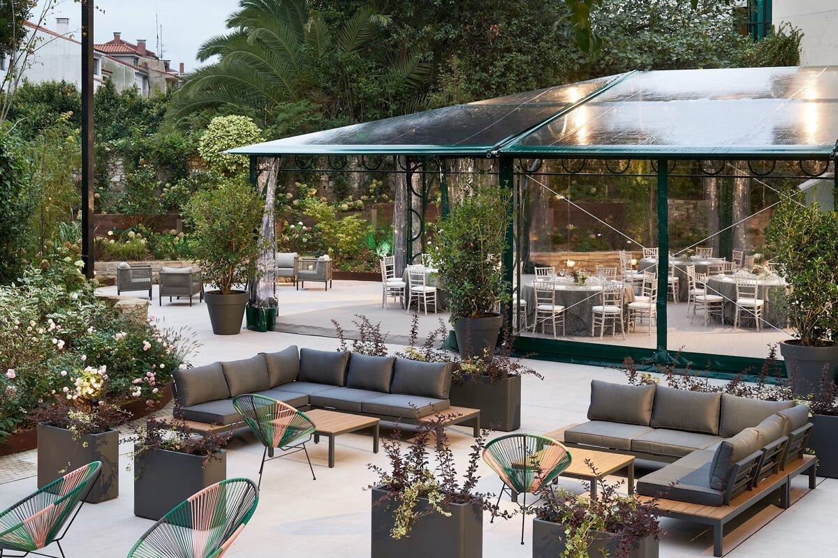 Terraza-bar para picar y tomar algo en el centro den Avilés