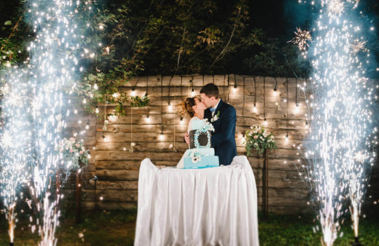 Fuegos artificiales durante tu boda: tips a tener en cuenta