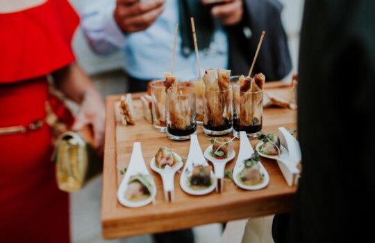 7 ideas para el catering de una boda