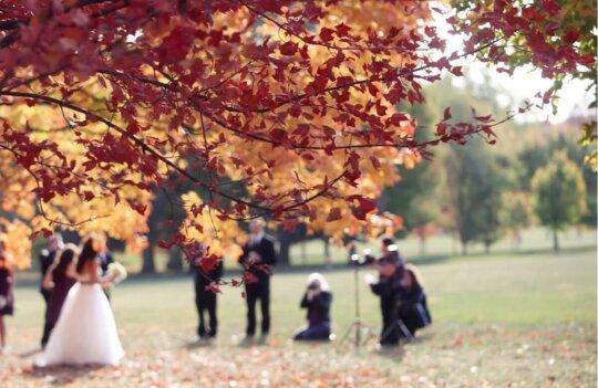 Bodas en octubre: consejos para planificar tu boda