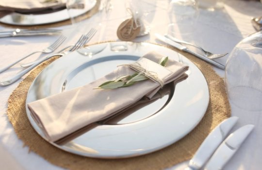 Ideas geniales para decorar mesas de boda