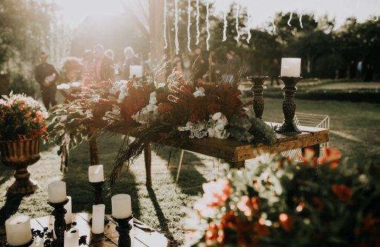 Ideas frescas para la decoración de bodas en jardín: enlaces al aire libre