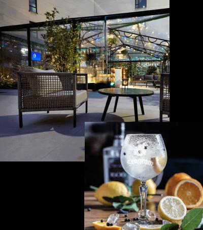 Seagram's Gin Roof Garden - Palacio de Avilés
