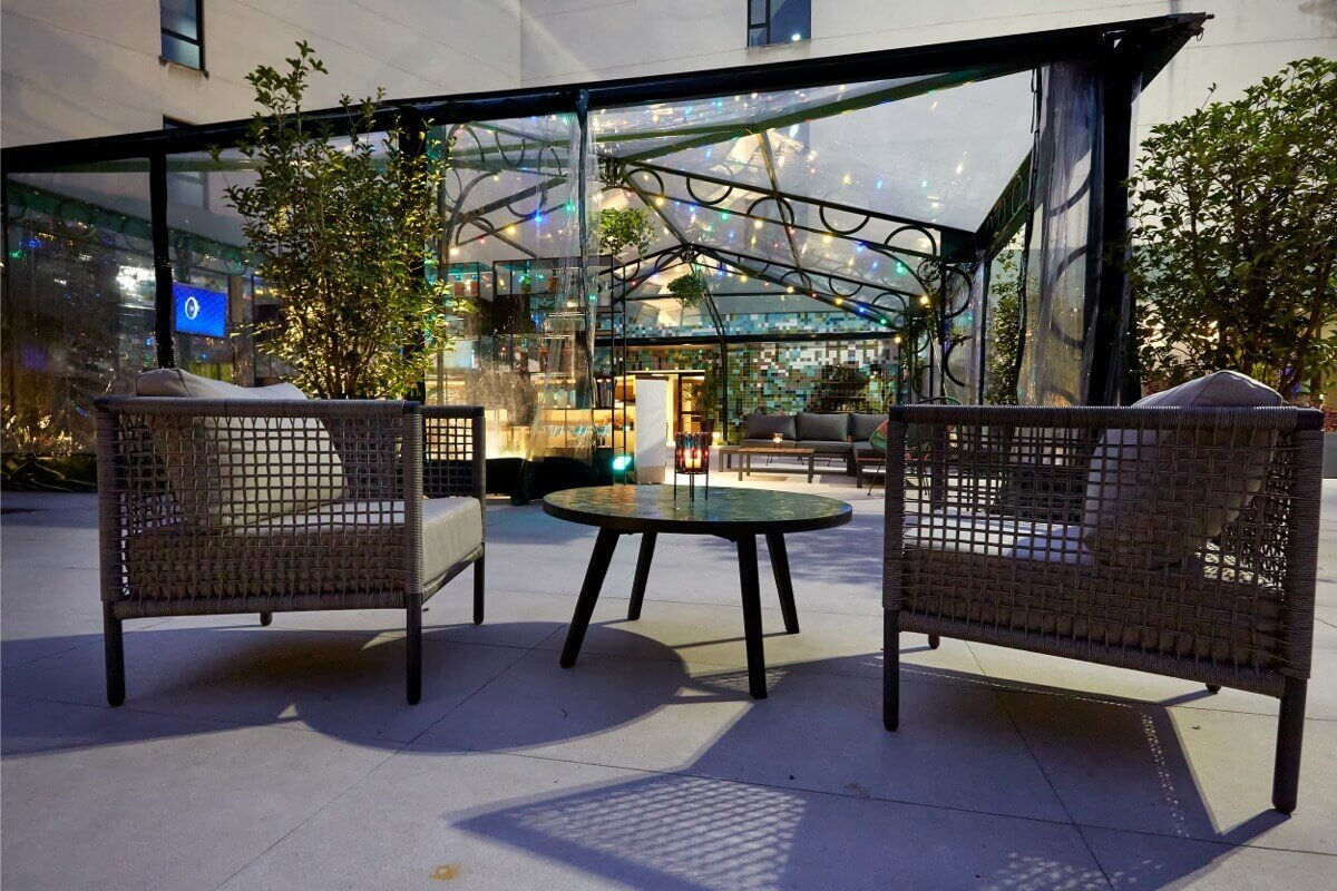 Seagram's Gin Roof Garden