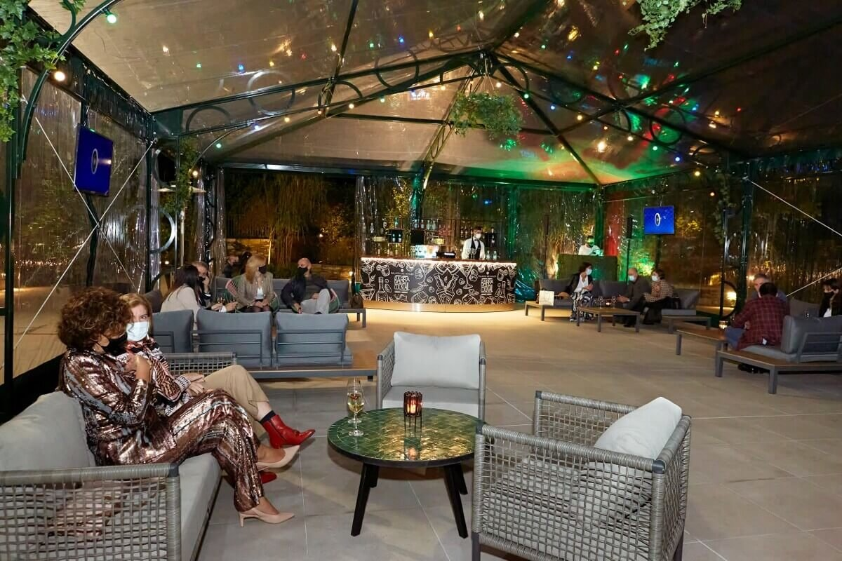 Seagram's Gin Roof Garden, para tomar algo al aire libre